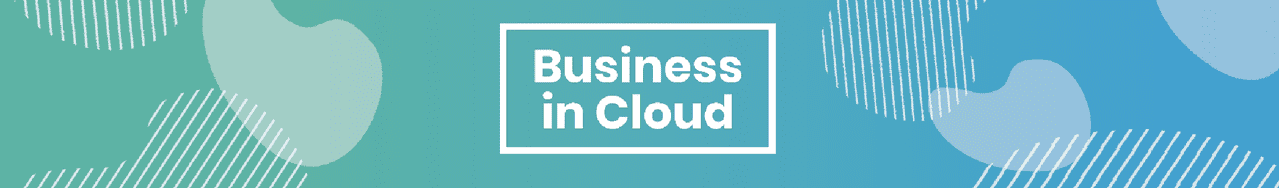 Business in cloud banner