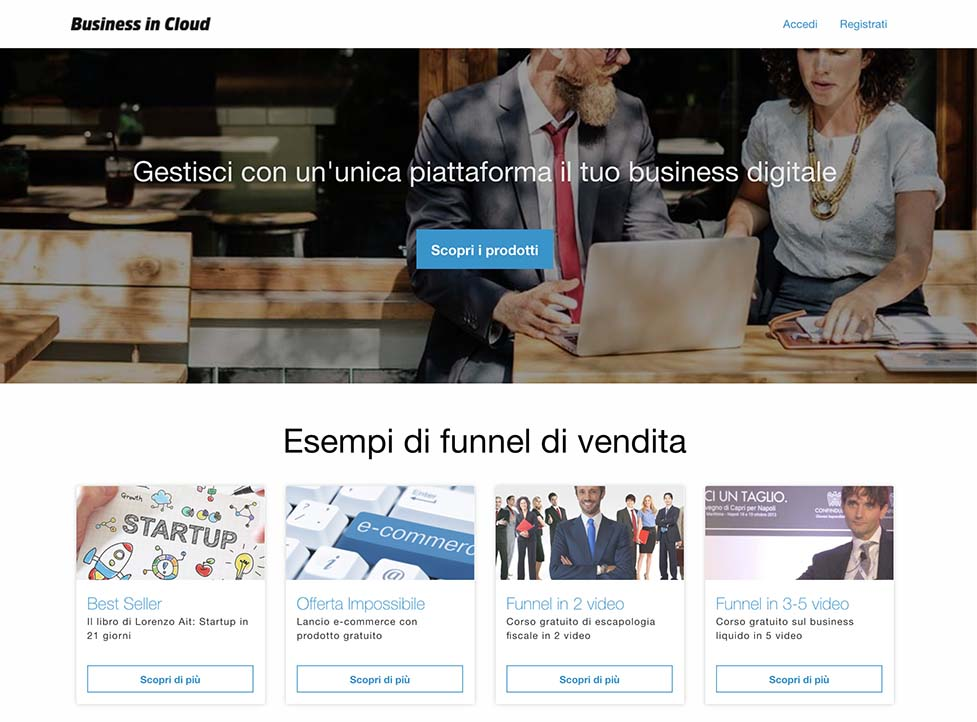 Business in Cloud - Social Academy