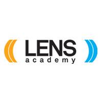 Logo lens academy social academy