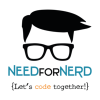 Logo need for nerd social academy