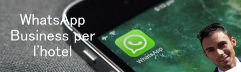 Corso WhatsApp Business per il TUO hotel
