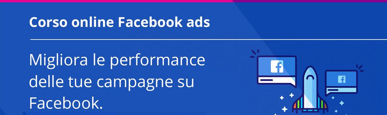 Corso online facebook ads