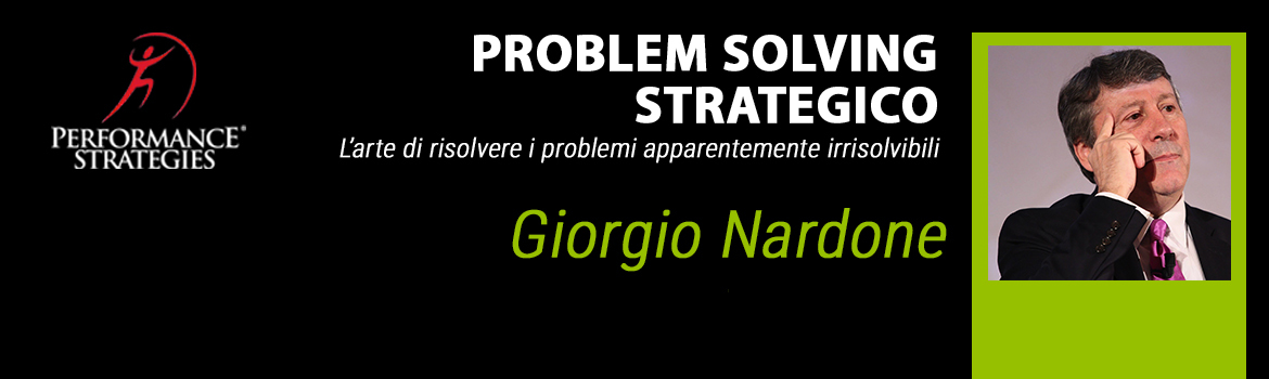 Problem solving strategico performance strategies socialacademy new