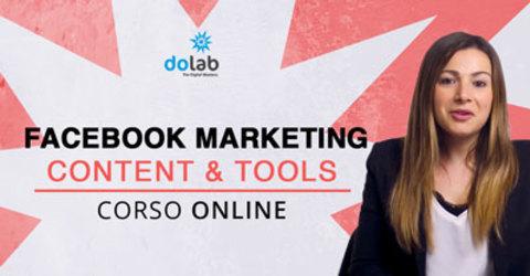 Facebook marketing content e tools due